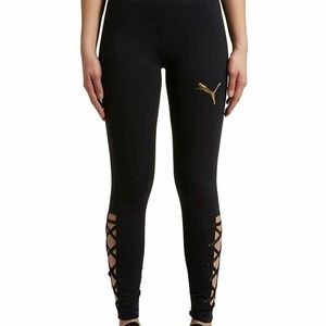 PUMA Women's Lace-Up Legging